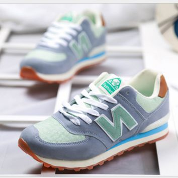 Fashionable and comfortable leisure sports Women shoes Dark grey green