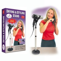 HAIR DRYER STYLING STAND HOLDER