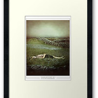 Sand And Stone Framed Prints by Erica Marie Photography | RedBubble