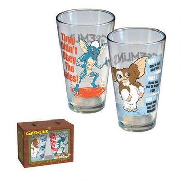 Gremlins 2-pk Pint Glass Set | WBshop.com | Warner Bros.