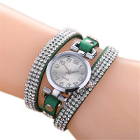 Leather Strap Watch for Women Girls  Sports Casual Watches Best Christmas Gift