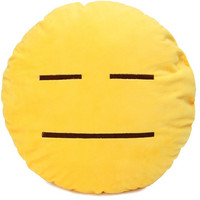 Emoji Not Amused Pillow