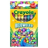 Crayola 8ct Pick your Pack Bejeweled Crayons