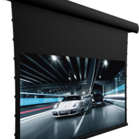 """Screen Innovations 5 Series 5TMFL125PG 125"""" Fixed Projector Screen - Pure Gray .85"""