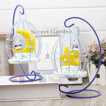 Colorful Bright Stylish Creative Summer Cats Cage Decoration Gifts Birthday Lights [6282829958]