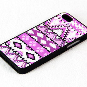 Aztec Pink Unique iPhone 4S/4 Case,iPhone 5 Case,iPod Touch 5 and 4 Case