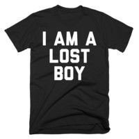 I Am A Lost Boy (Black Shirt)