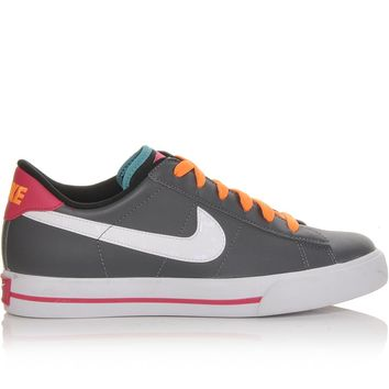 Women's Nike Sweet Classic Leather Gry/Pink/Orange | Shoe Carnival