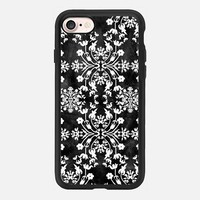 Flower lace Big(black) iPhone 7 Case by Kanika Mathur | Casetify