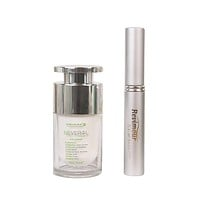 Neverol Eye Cream & Revimour Natural Eyelash and Eyebrow Growth Serum Gift Set