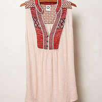 Anthropologie - Embroidered Evie Top