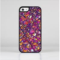 The Shards of Neon Color Skin-Sert Case for the Apple iPhone 5c
