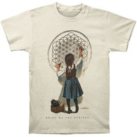 Bring Me The Horizon Men's  School Girl Slim Fit T-shirt Off-white