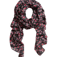 Patterned Scarf - from H&M