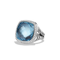 Albion Ring with Black Orchid and Diamonds - David Yurman