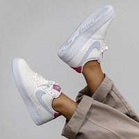 Nike Air Force 1 Low Desert Berry low-top all-match casual sports shoes