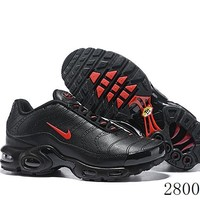 Hcxx 19July 1232 Nike Air Max Plus 815994-102 Hollow Retro Sports Flyknit Running Shoes