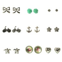 LOVEsick Multi Earrings 9 Pair