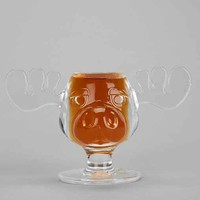 Marty Moose Shot Glass- Clear One