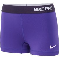 "Nike Pro Core 2.5"" Women's Compression Shorts, #504 Purple X-Large [XL]"