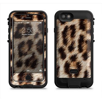 The Leopard Furry Animal Hide  iPhone 6/6s Plus LifeProof Fre POWER Case Skin Kit