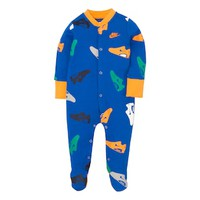 Baby Boy Nike Athletic Shoe Footed Coverall | null