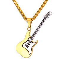 Guitar Pendant Necklaces