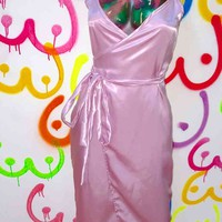 SWEET LORD O'MIGHTY! LOVE SILK DRESS IN LILAC