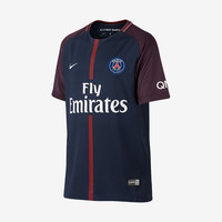 PSG 2017-18 Youth Home Jersey
