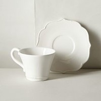 Lotus Cup & Saucer by Anthropologie