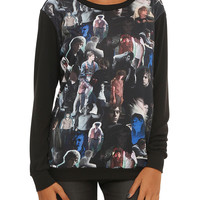 American Horror Story Evan Peters Collage Girls Pullover Top