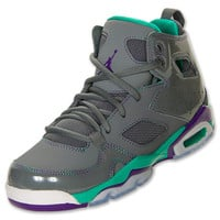 Girls' Grade School Jordan Flight Club 91 Basketball Shoes