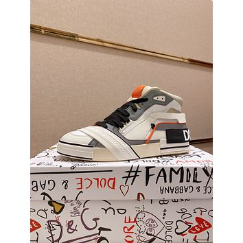 DG 2021 Men Fashion Boots fashionable Casual leather Breathable Sneakers Running Shoes08150em