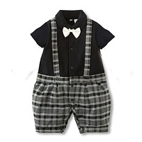 Baby Boy Clothes Gentleman born Baby Clothes Baby Boy Clothing Infant Jumpsuits Kids Clothes