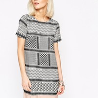 Vero Moda Printed Tunic Dress at asos.com