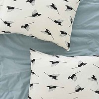Elisabeth Fredriksson For DENY Magpies Pillowcase Set