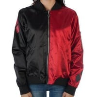 Harley Quinn Diamonds DC Comics Junior Bomber Jacket