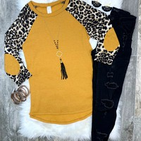 Thermal Leopard Top