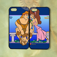 Hercules and Meg Couple Case -iPhone 5, iphone 4s, iphone 4, ipod 5, Samsung GS3 case silicone or Hard Plastic Case, Phone cover