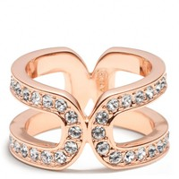 Coach :: Double Link Wrap Ring