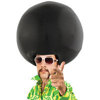 The Gray Goose ? Inflatable Afro Wig