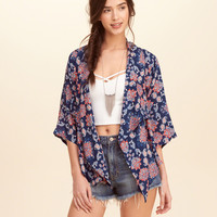 Belted Kimono Top