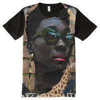 African Black Beauty All-Over Print T-shirt