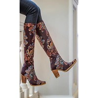 Rockwell Tharp Passion Ranch Knee High Boot (Size 6.5)