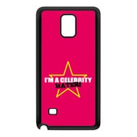 Celebrity Hater Black Silicon Rubber Case for Galaxy Note 4 by Chargrilled