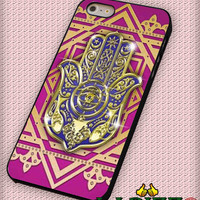 "Evil eye hamsa for iPhone 4/4s, iPhone 5/5S/5C/6/6+, Samsung S3/S4/S5 Case ""005"""