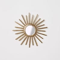 Round mirror - Gold - Home All | H&M US
