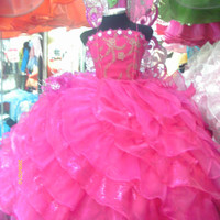 Barbie butterfly Disney Princess fairy party pageant bridesmaid medieval pink fiusha bridal graduation dress quinceanera halloween costume