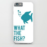 The Fish? iPhone & iPod Case by Glassy
