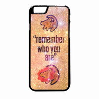 Lion King Samba Remember Who You Are iPhone 6 Plus Case